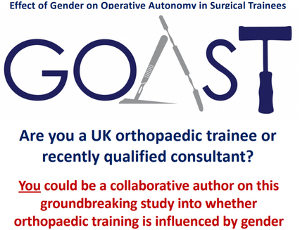 GOAST STUDY - Be a part of the biggest collaborative orthopaedic study!