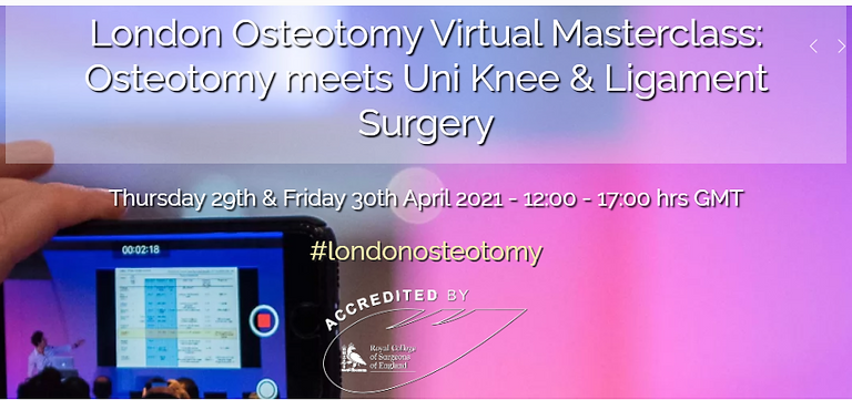 London Osteotomy Masterclass