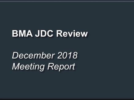 Junior Doctors Contract BMA Review