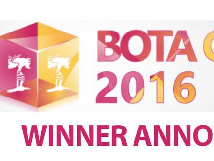 BOTA Census 2016 – Winner Announced!