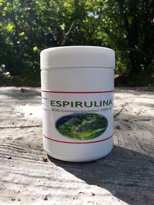 Espirulina comprimidos 500mg