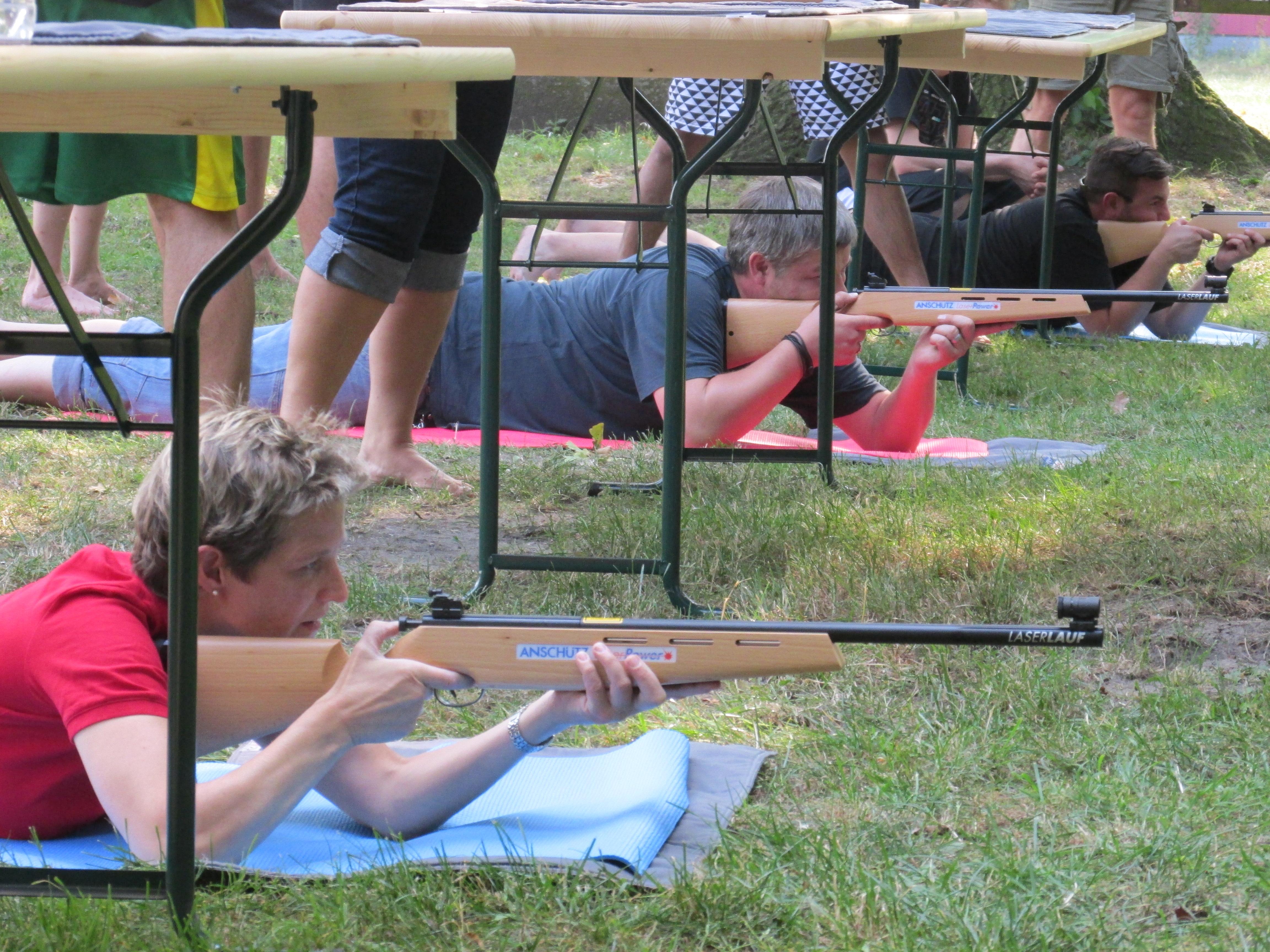 Lasergewehrschießen in Bollmannsruh