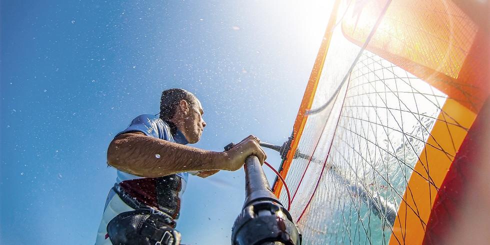 Grundkurs Windsurfen- inklusive Prüfung und VDS Grundschein