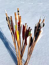 Pfeile Bogenschießen Schnee