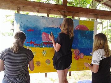 Kunstprojekt Beach Atelier