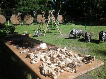 Projekt Hüttenbau