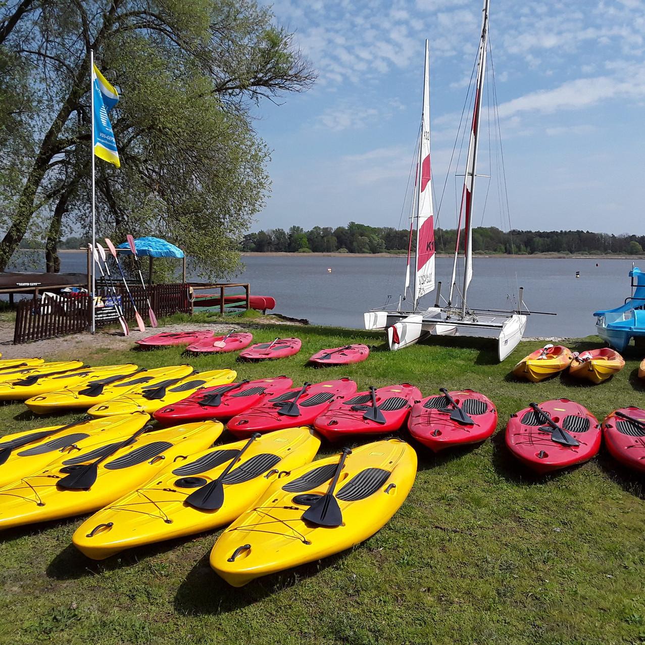 Bootsverleih / natur sport projekt Beetzsee