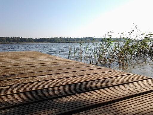 Holzsteg am Beetzsee