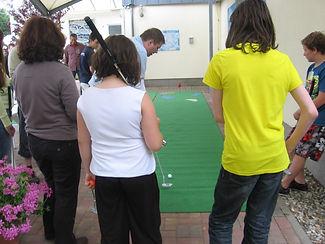 Golfparcour als Eventmodul