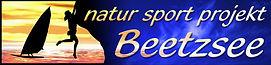 Logo natur sport projekt Beetzsee