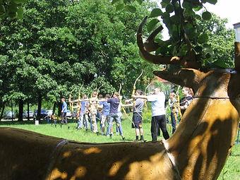 Gruppenevent Workshop Bogenschießen