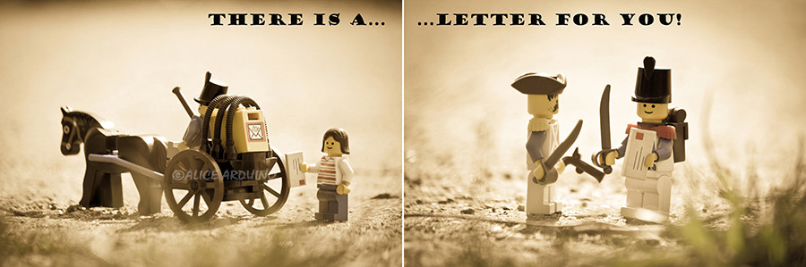 There is a letter for you