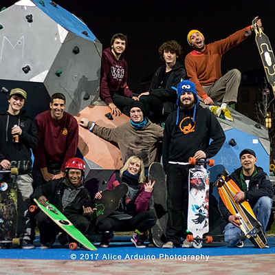 Torino Night Ride - Longboard Crew