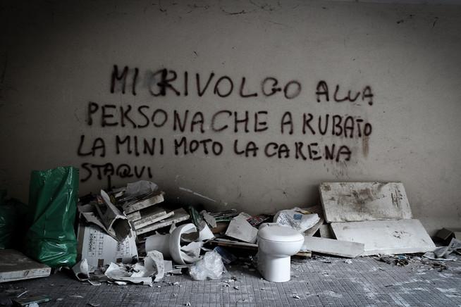 Scritta su muro