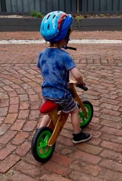 Balance Bike in action...!