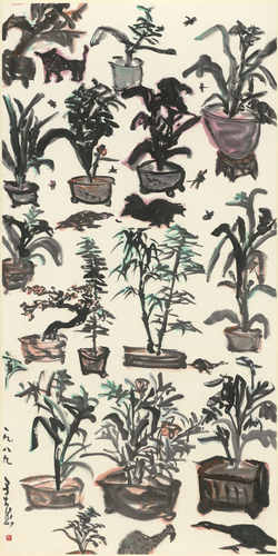 YU Peng, The Garden Full of Potted Planets
