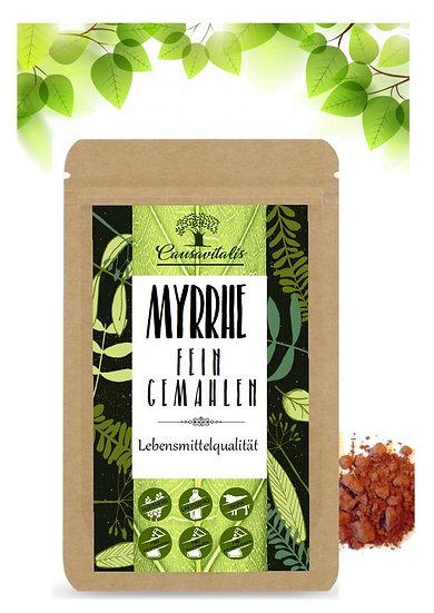 CAUSAVITALIS Myrrhe Harz Pulver fein gemahlen Lebensmittelqualität Darm 100g