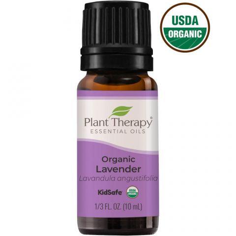 Organic Lavender Essential Oil, 10ml