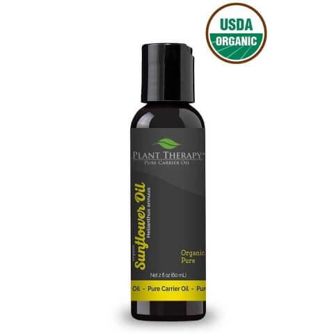 Organic Sunflower Carrier Oil, 2oz