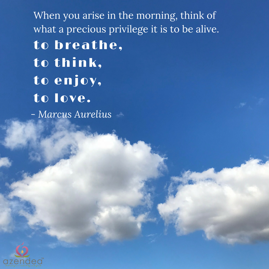 Arise in the morning
