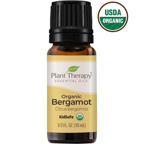 Organic Bergamot Essential Oil, 10ml