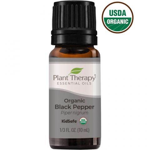 Organic Black Pepper Essential Oil, 10ml