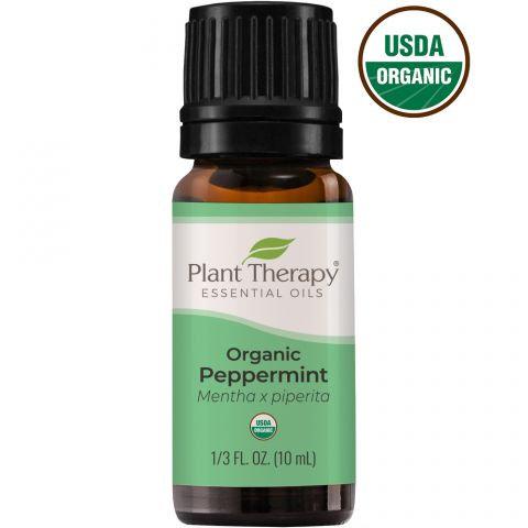 Organic Peppermint Essential Oil, 10ml