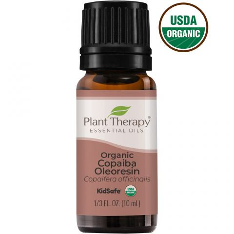 Organic Copaiba Oleoresin Essential Oil, 10ml