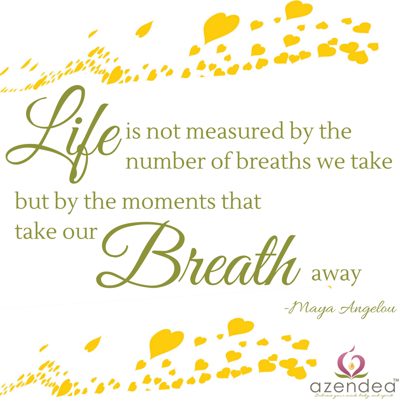 Life is measured