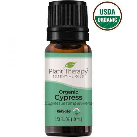 Organic Cypress Essential Oil, 10ml