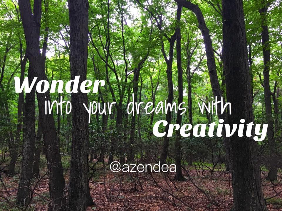 Wonder into your dreams