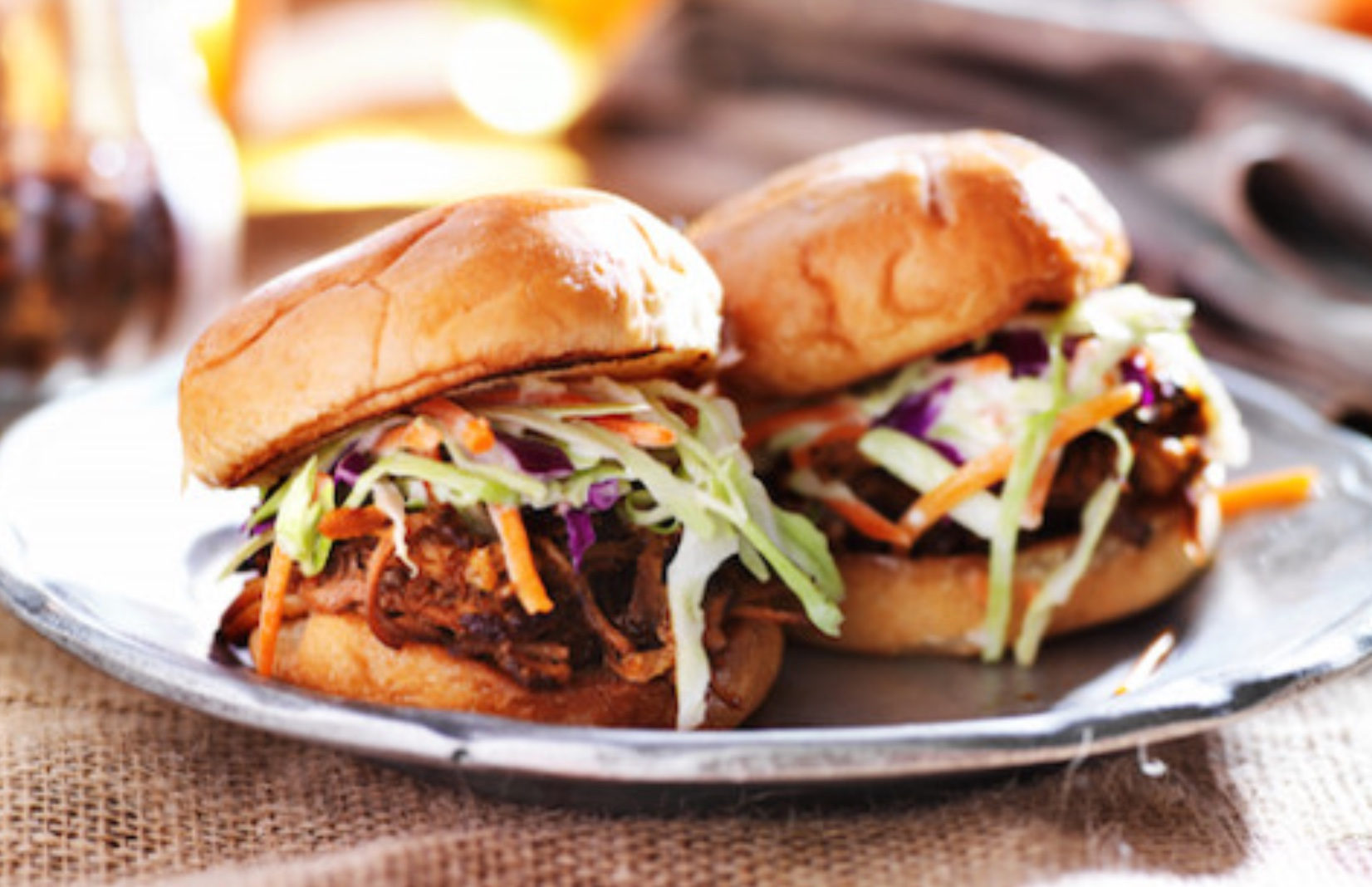 Pulled pork sliders