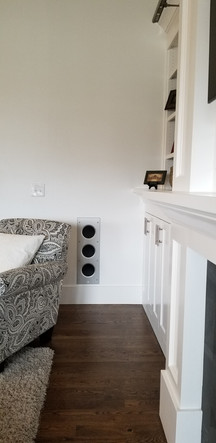 KEF In-wall subwoofer