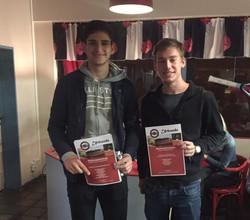 Samer El Youssef und Tom Linge