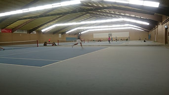 Tennishalle 4 Plätze