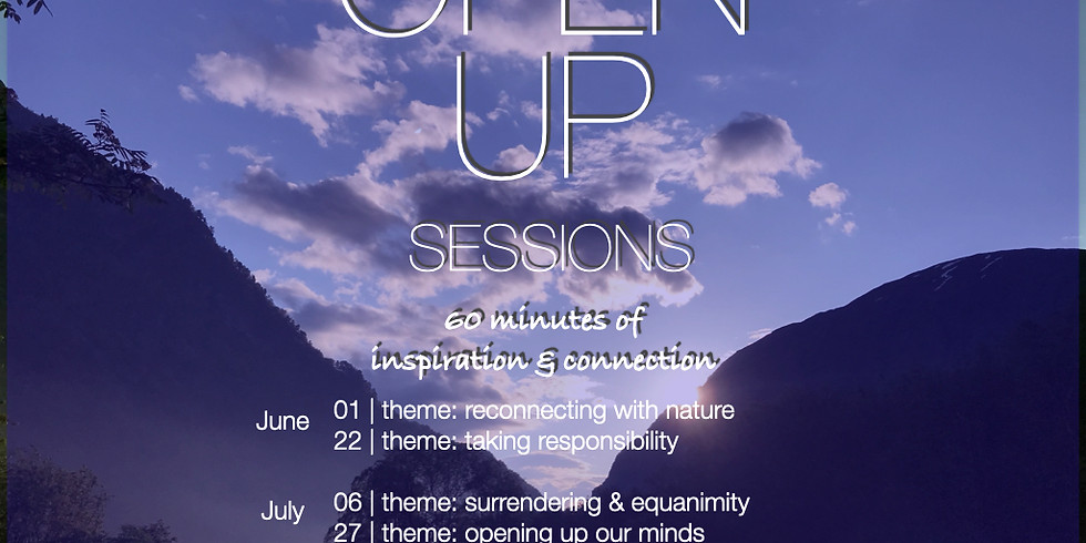 Open Up Session 5 - Opening up our minds