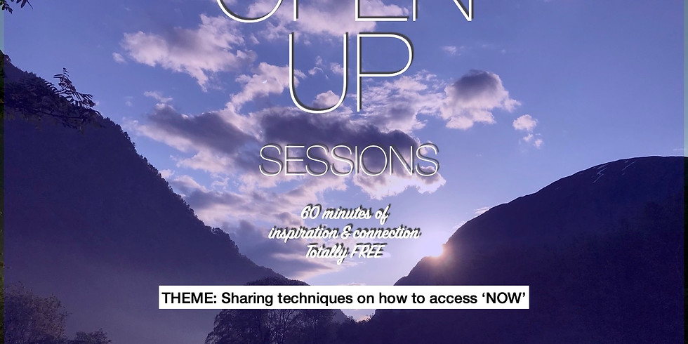 Open Up Session 30.11.2020 - Every 3rd Monday