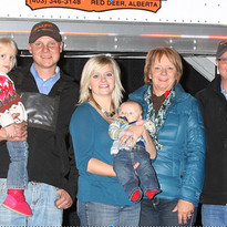 Winning a Trailer from Featherlite 2012