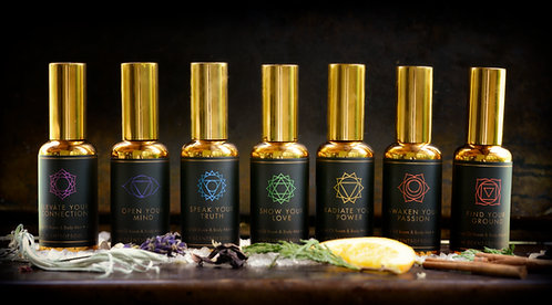 Scents of Soul Body & Room Mist - Set of 7