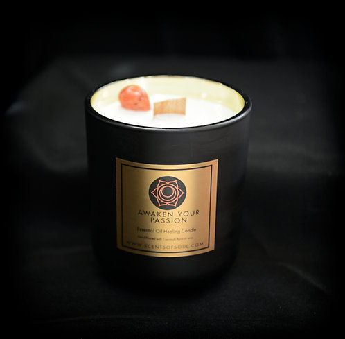 Awaken Your Passion Healing Candle