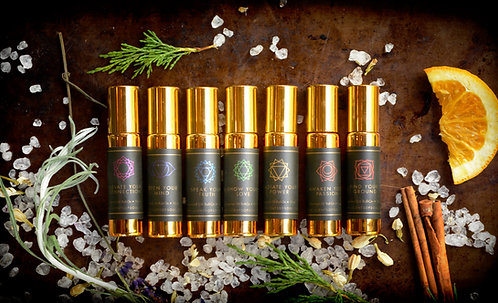 Scents of Soul Roll-Ons - Set of 7