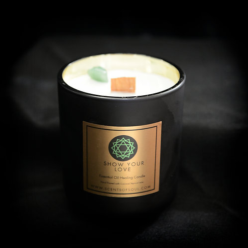 Show Your Love Healing Candle