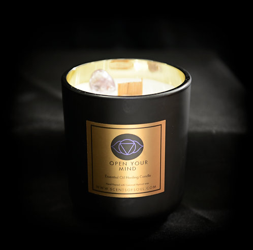 Open Your Mind Healing Candle