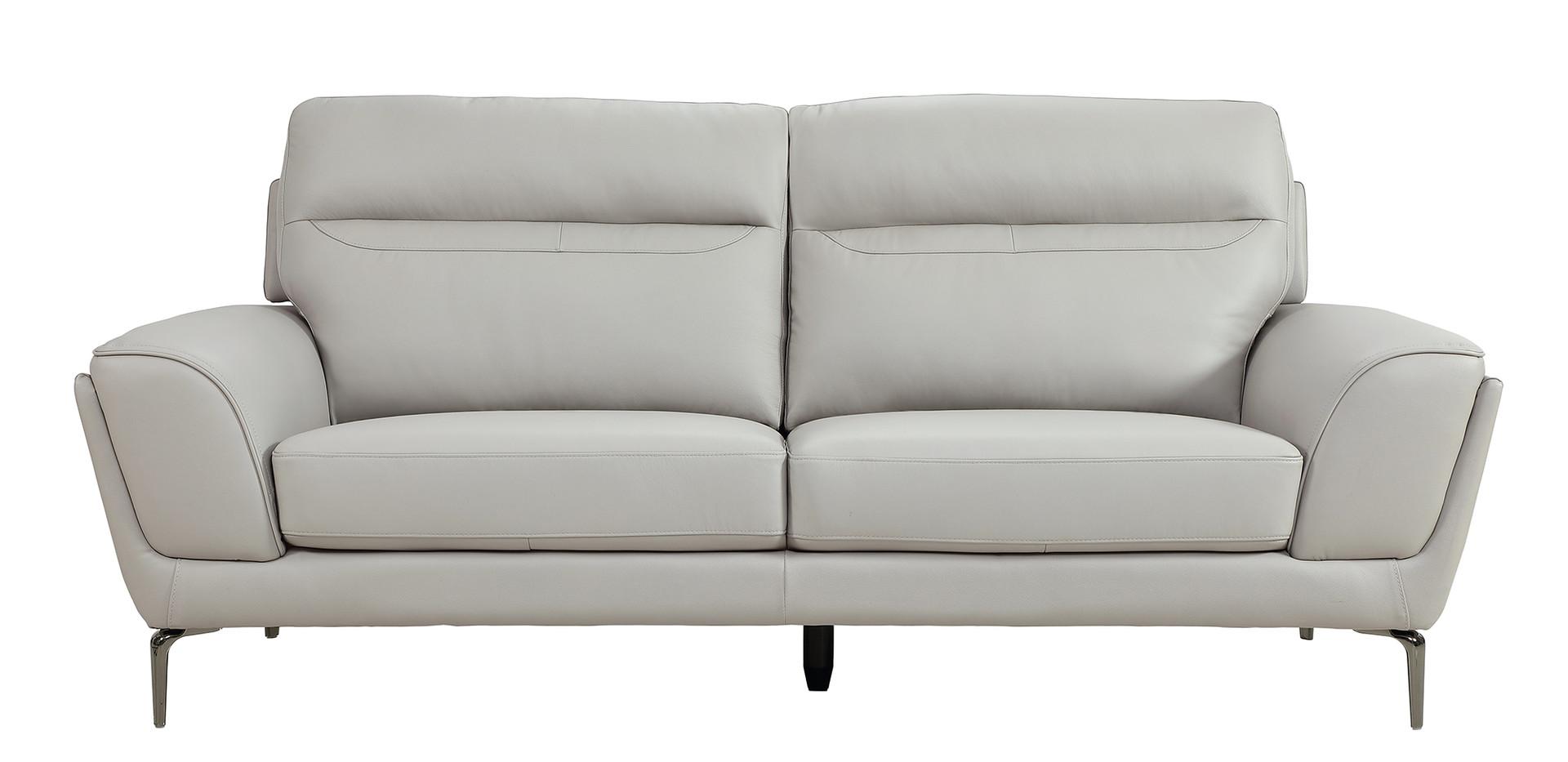Vitalia 3 Seater - Light Grey Straight.j