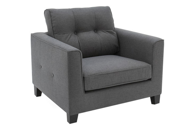 Astrid 1 Seater Charcoal - Angled.jpg