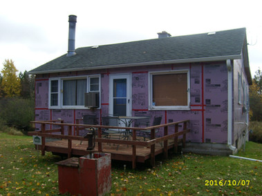 cottage before exterior renovation