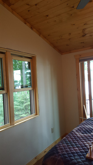 cottage/home addition interior
