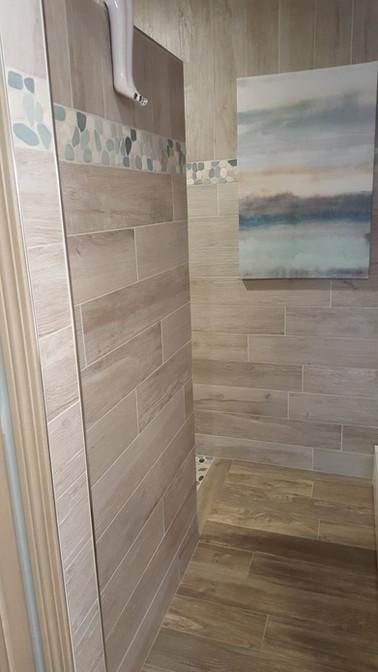 custom tile bath