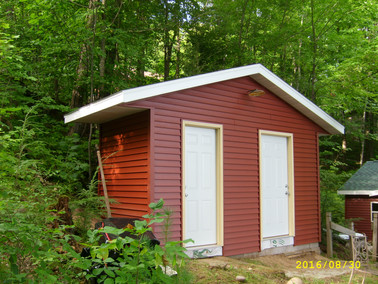 outhouse renovation
