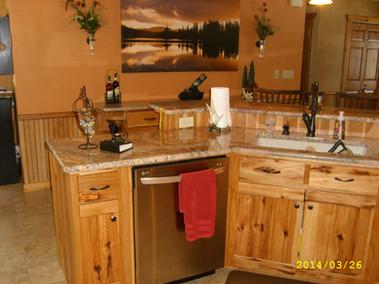 Mike & Joy Goes custom kitchen